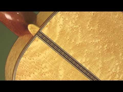 Sasha Radicic BirdsEye Maple Classical Guitar