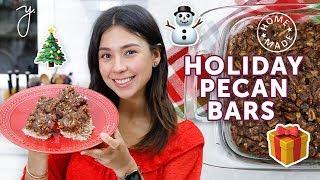 PECAN PIE BARS | Yummy, Easy & Healthy! Yovana?