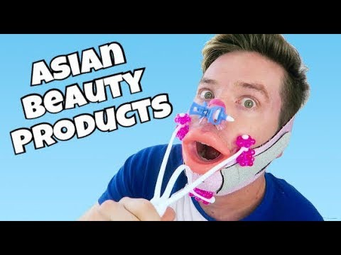 TRYING CRAZY ASIAN BEAUTY PRODUCTS!