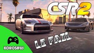 Video CSR Racing 2 - La Vidéo Du Fail download MP3, 3GP, MP4, WEBM, AVI, FLV September 2018