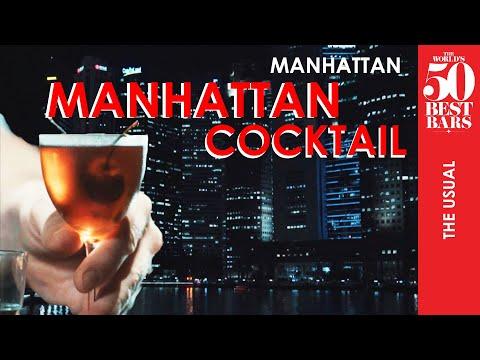 Manhattan Cocktail At Manhattan Bar   The World's 50 Best Bars