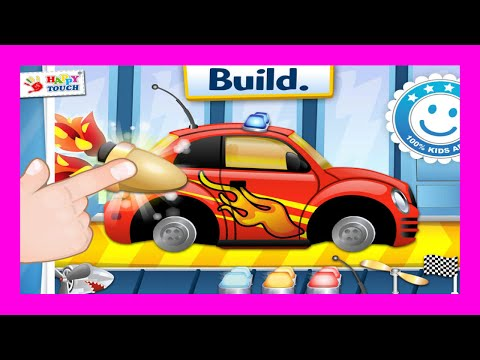 Dream Cars - Build Fun Race Cars Police Cars - Best Apps for Kids Playlist Channel