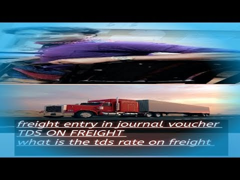 FREIGHT INWARD  AND TDS ON FREIGHT CALCULATION