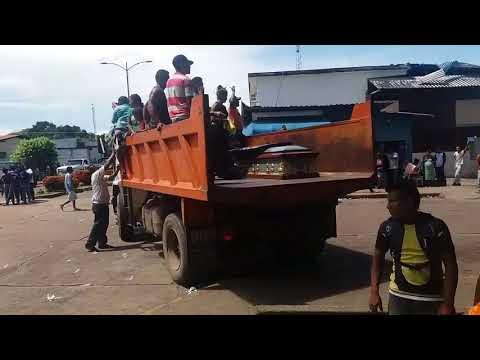 Los 37 presos asesinados fueron trasladados como si fueran basura podrida (VIDEO)