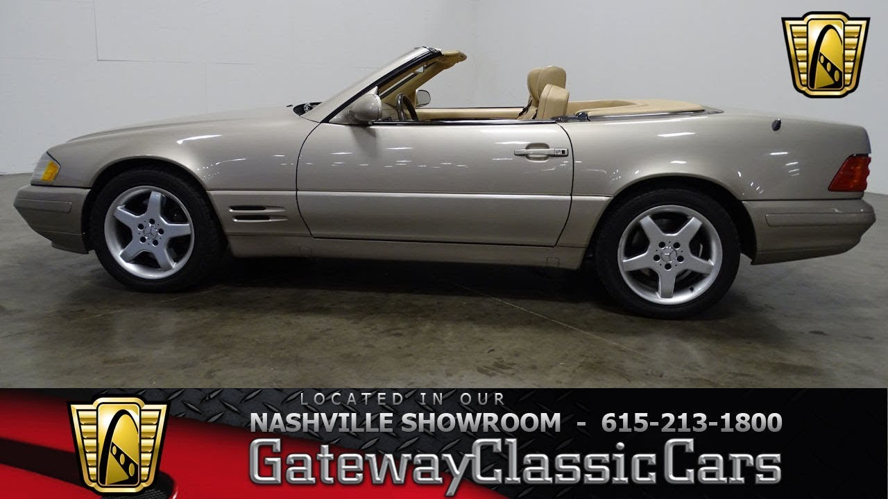1999 Mercedes Benz SL500, Gateway Classic Cars Nashville,#724NSH