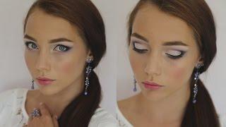 видео Неотразимо, нежно и выразительно, или Как сделать свадебный макияж для карих глаз
