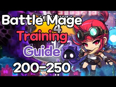 Battle Mage Training Guide 200 - 250