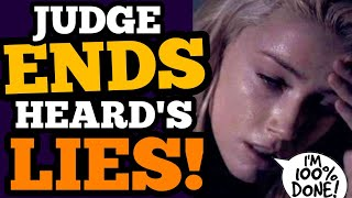 Judge's BOMBSHELL decision RUINS Amber Heard; Depp FINALLY sees JUSTICE!