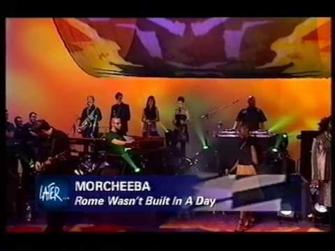 Morcheeba, Rome Wasn't Built In A Day, live on Later With Jools Holland 2000