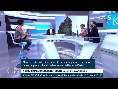 Notre-Dame : une reconstruction... et un scandale ? - Les questions SMS #cdanslair 20.09.2019