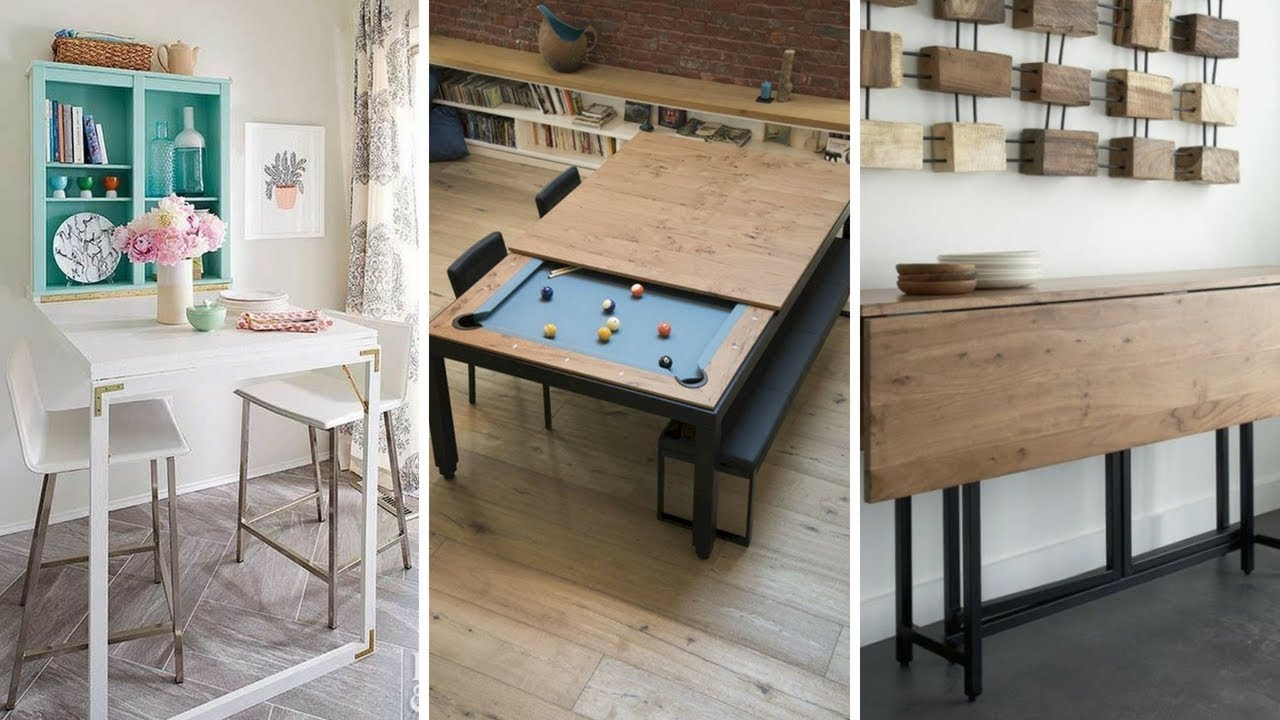5 Smart Ways How To Design Tables For Small Dining Room Youtube