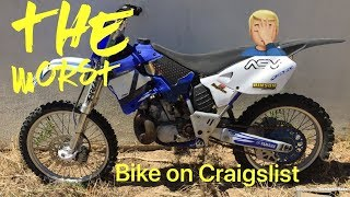Buying the worst dirt bike on Craigslist