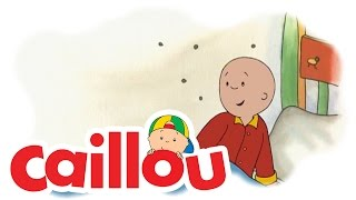 Caillou - Caillou is Afraid in the Dark  S01E09  Cartoon for Kids
