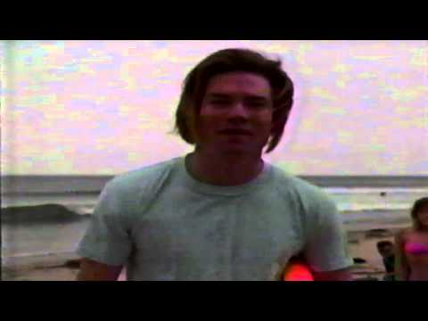 BoJesse as a stoner surfer on DEA TV Pilot 1989