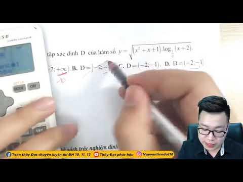 Thầy Nguyễn Tiến Đạt - Toán 12 - Tổng Hợp 13 Kỹ Thuật Casio Hiệu Quả