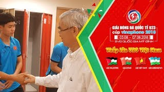 HOT: U23 Việt Nam nhận được sự chúc mừng đặc biệt từ chủ tịch VFF Lê Hùng Dũng | VFF Channel