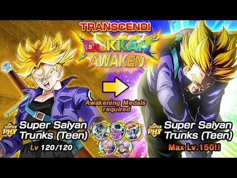LR Awakening Trunks Baby! Come check it out - DBZ Dokkan Battle Global