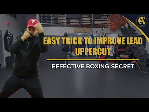 Boxing| Easy Trick to Improve Lead Uppercut (Effective Boxing Secret)