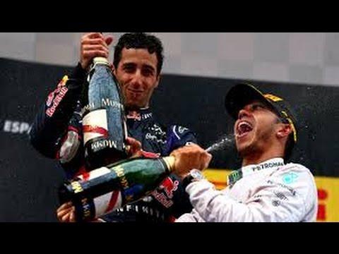 Lewis Hamilton third in Hungarian GP as Daniel Ricciardo wins