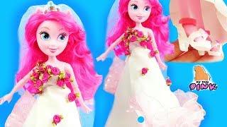 WEDDING DRESS! Свадебное Платье для куклы ПИНКИ ПАЙ Своими Руками MLP Equestria Girls  Май Литл Пони