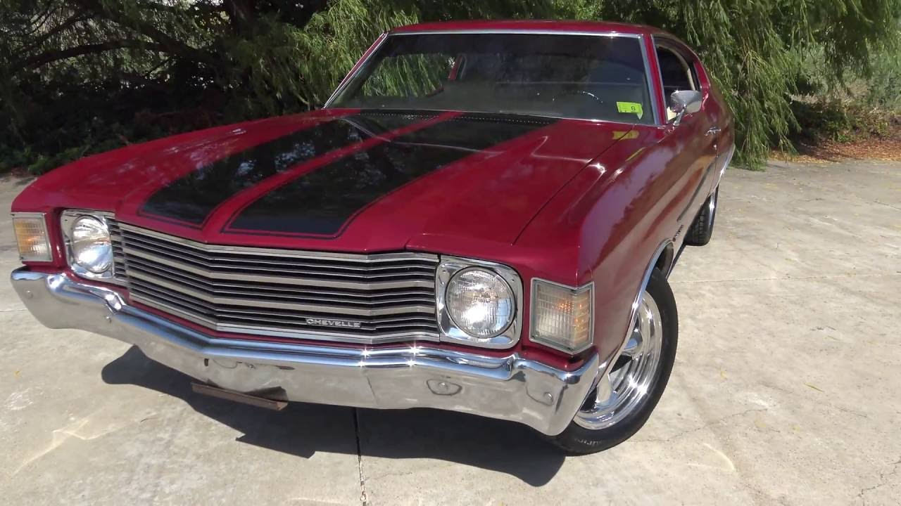 Malibu 1972 chevrolet malibu : 1972 Chevrolet Chevelle / Malibu 350 Sport Coupe - YouTube