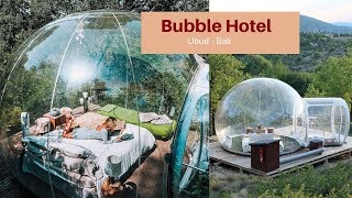 Gambar cover Ubud , Bali Vlog! We stayed at the Bubble Hotel (Airbnb) in a jungle | #TravelVideo