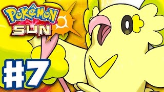 Pokemon Sun and Moon - Gameplay Walkthrough Part 7 - Oricorio Meadow! (Nintendo 3DS)