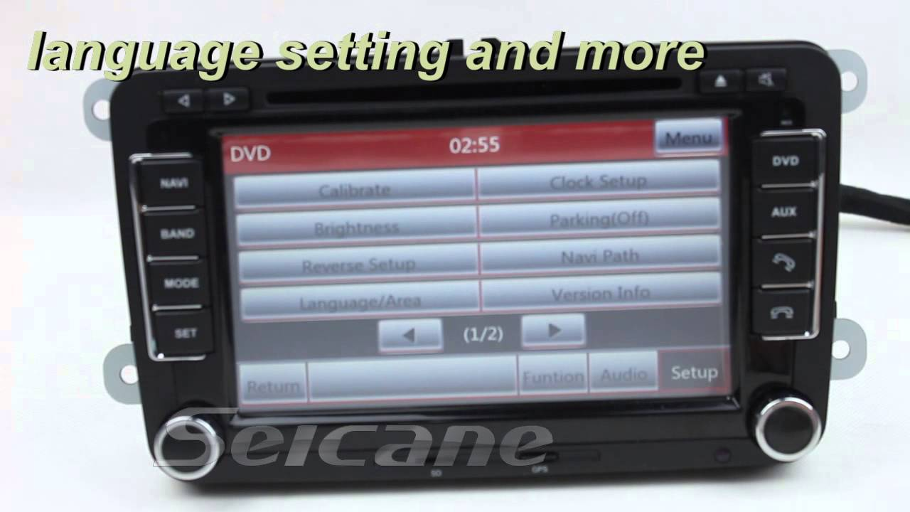 cheapest skoda fabia radio dvd player gps navigation. Black Bedroom Furniture Sets. Home Design Ideas