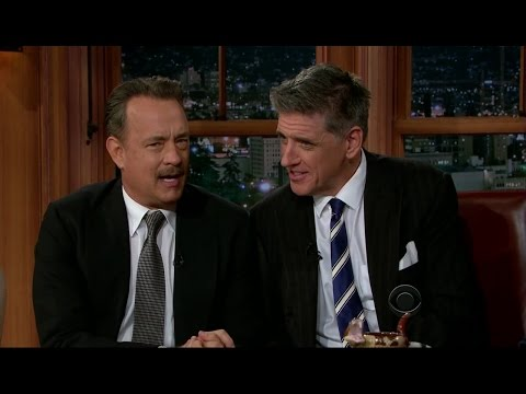 Late Late Show with Craig Ferguson 10/29/2012 Tom Hanks, Phil Hanley