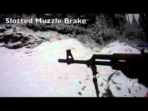 AK Muzzle Device Test Part 1: Recoil Reduction - The Truth
