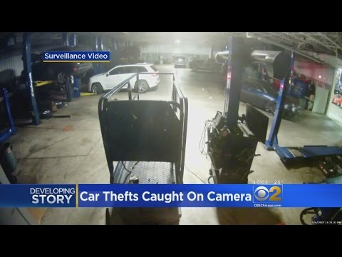 String Of Car Heists Hit Chicago Area