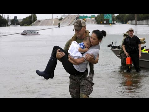 How the worst of Harvey brought out America's best