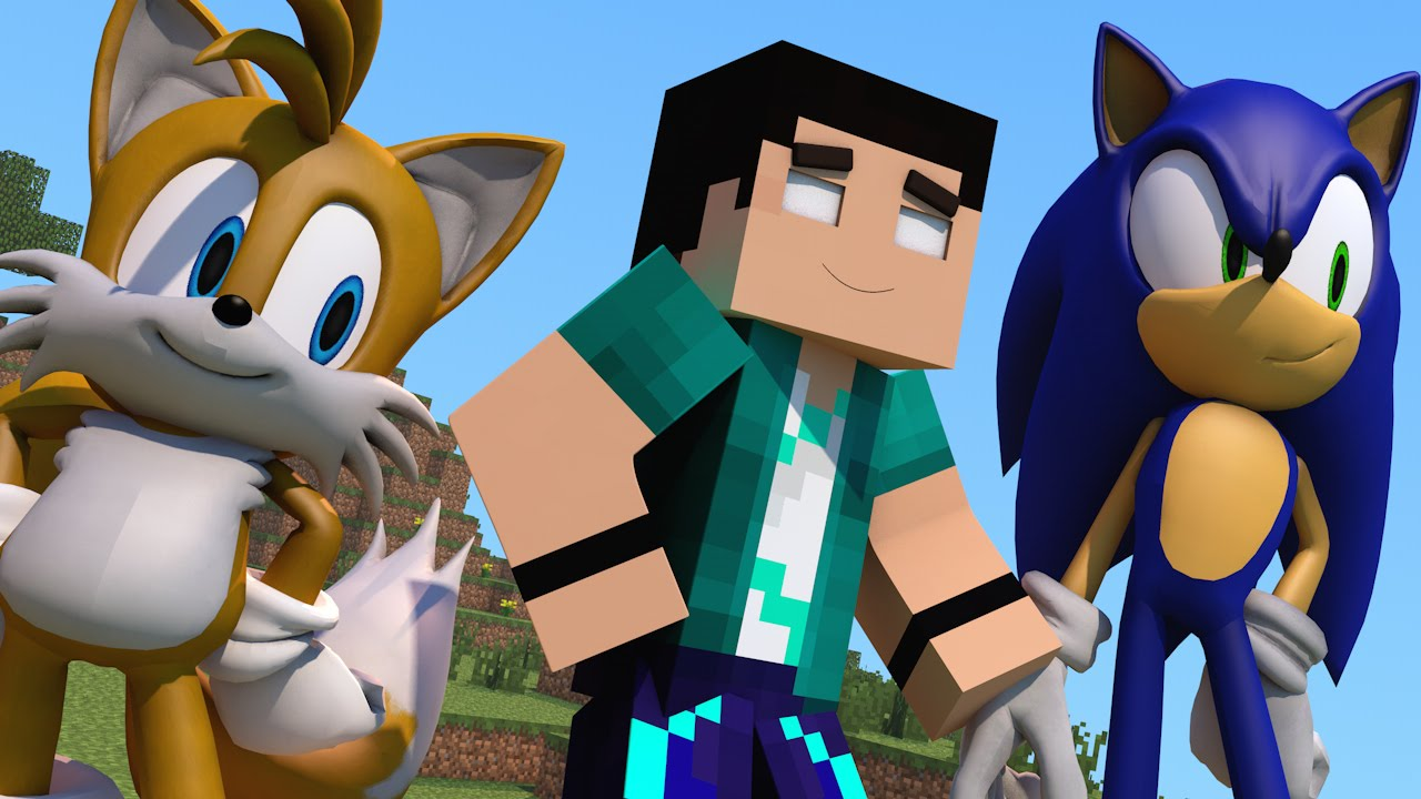 Mod Minecraft Sonic The Hedgehog Todos Personagens Mod