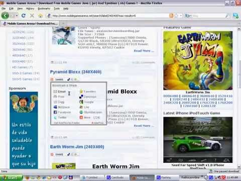 how to download samsung s5230 games