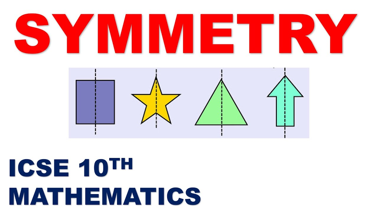 Symmetry | Complete Chapter | ICSE 10th Mathematics