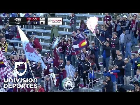 Colorado 'madruga' a Real Salt Lake con gol de Joshua Gatt | MLS