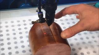 Engraving Christmas Ham with Laser Cutter