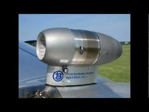 Blaník L-13 TJ s proudovým motorem - Jet Glider