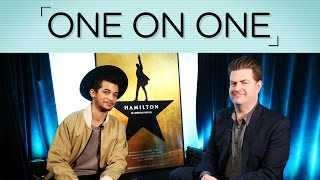 One on One: Jordan Fisher of HAMILTON