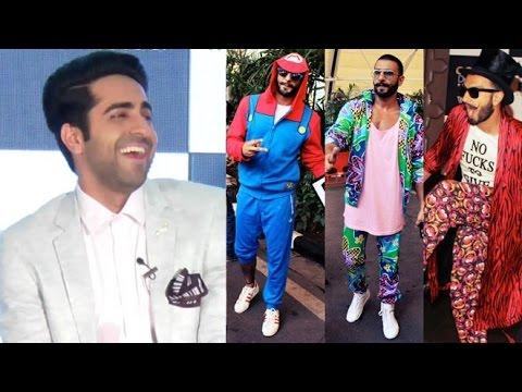 Ayushmann Khurrana On Ranveer Singh FUNNY Dressing Style Mp3