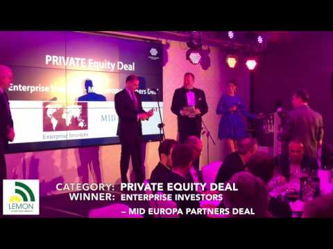 2017.03.23 - 1st Annual CEE MERGERS AND ACQUISITIONS AWARDS   Private Equity Deal