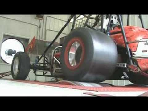 Gaerte Engines Sprint Car On Chassis Dyno Youtube