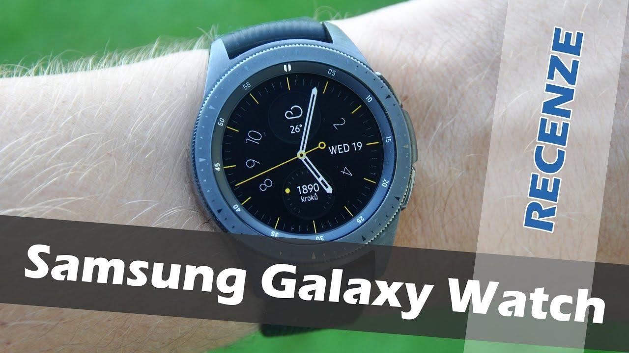 Samsung Galaxy Watch  recenze - YouTube b6a6841787
