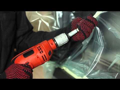 TORNADO rotary chimney cleaning kit