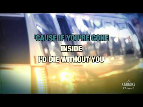 I'd Die Without You in the style of P.M. Dawn | Karaoke with Lyrics
