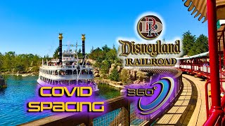 [FULL 360 POV][4K] DISNEYLAND RAILROAD - New Orleans Square Station to Mickey's Toontown Station