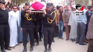 جنازة عسكرية لـ«شهيد كمين الصفا بالعريش» في السويس