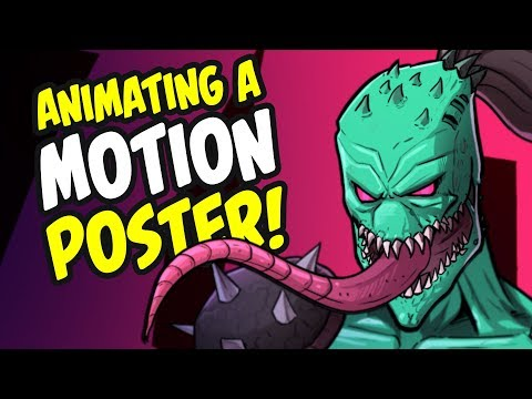 Animating a Motion Poster for ZHC