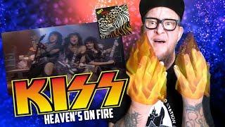 "Baixar KISS ""Heaven's on Fire'  | Animalize  (Reaction)"