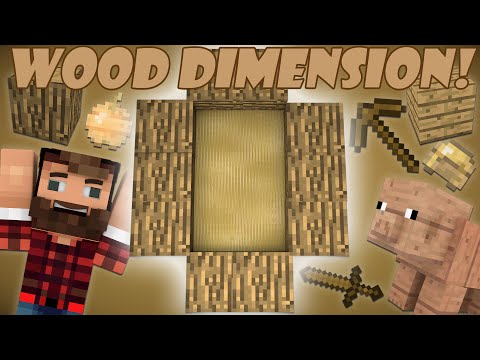 If a Wood Dimension was Added - Minecraft
